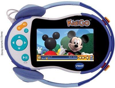 KidiGo Mon premier lecteur multimédia  de Vtech Réf : 148305 moins cher en ligne. Ecran : Couleur de 4.3'' ,  Age : 3 ans  Comparez son prix chez 4 vendeurs en ligne .