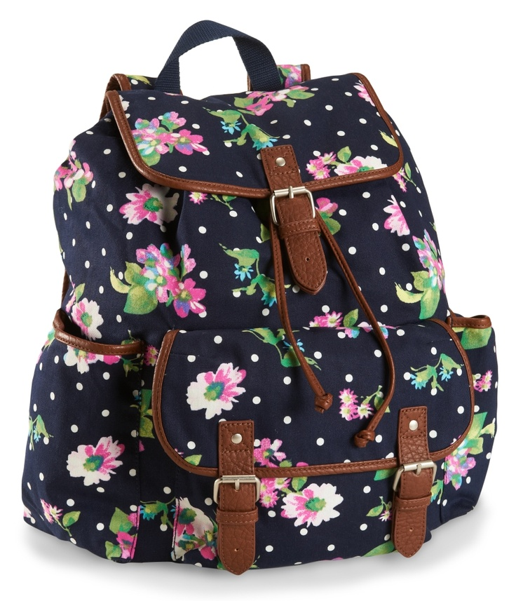 17 Best ideas about Floral Backpack on Pinterest | School bags ...