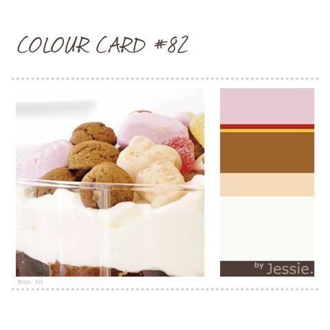 'Heerlijk avondje is gekomen...'  Maak je eigen #ColourCard, kijk voor het recept op: http://www.ah.nl/allerhande/recept/R-R861132/sinterklaastrifle