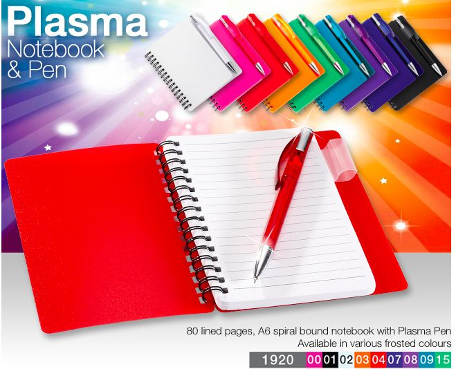 WNotebook and Pen R13.50 Excl Vat, Branding available