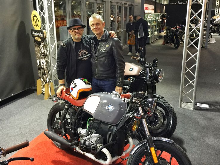 Mr Motorecyclos with mr Ace Cafè London - Mark Wilsmore