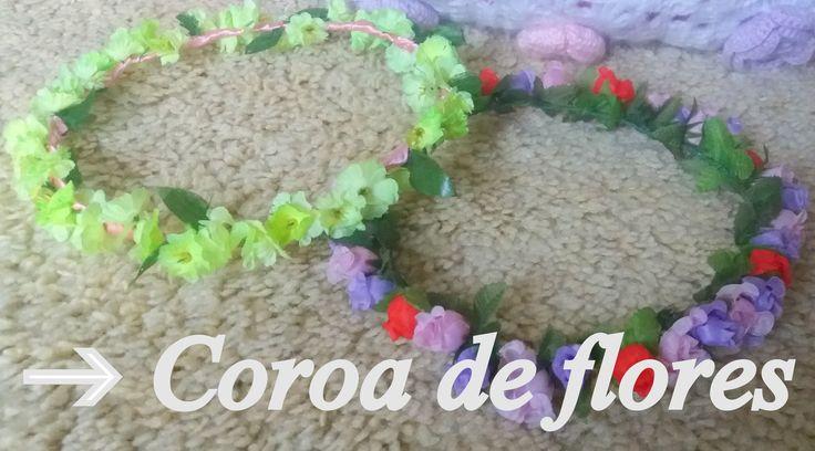 DIY Como fazer coroa de flores- Clarisse Froner