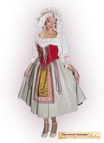 Фото национального французского костюма