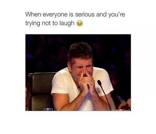 Lol ajahahaahahahaha #serious  cute,  #simon cowell -  #funny