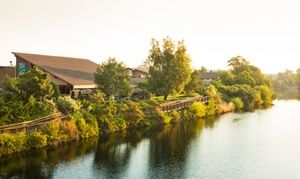 Groupon - Stay at the Red Lion River Inn in Spokane, WA, with Dates into February in Spokane, WA. Groupon deal price: $59