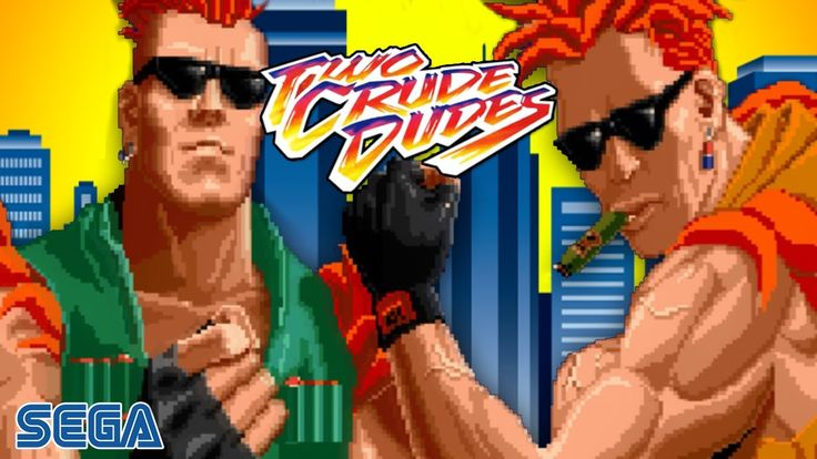Two Crude Dudes/Crude Buster|Punk Order|Walkthrough Longplay HD