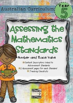 An assessment pack that links the content descriptors and achievement standard for year 5 number and place value.