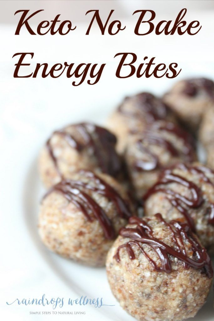 Keto No Bake Energy Bites