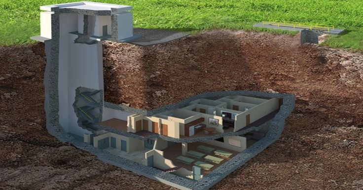 Image result for doomsday bunker layout Underground