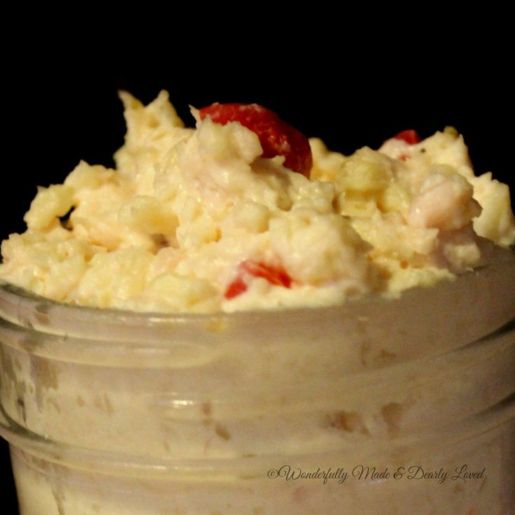 Pepper Jack Pimento Chicken Spread
