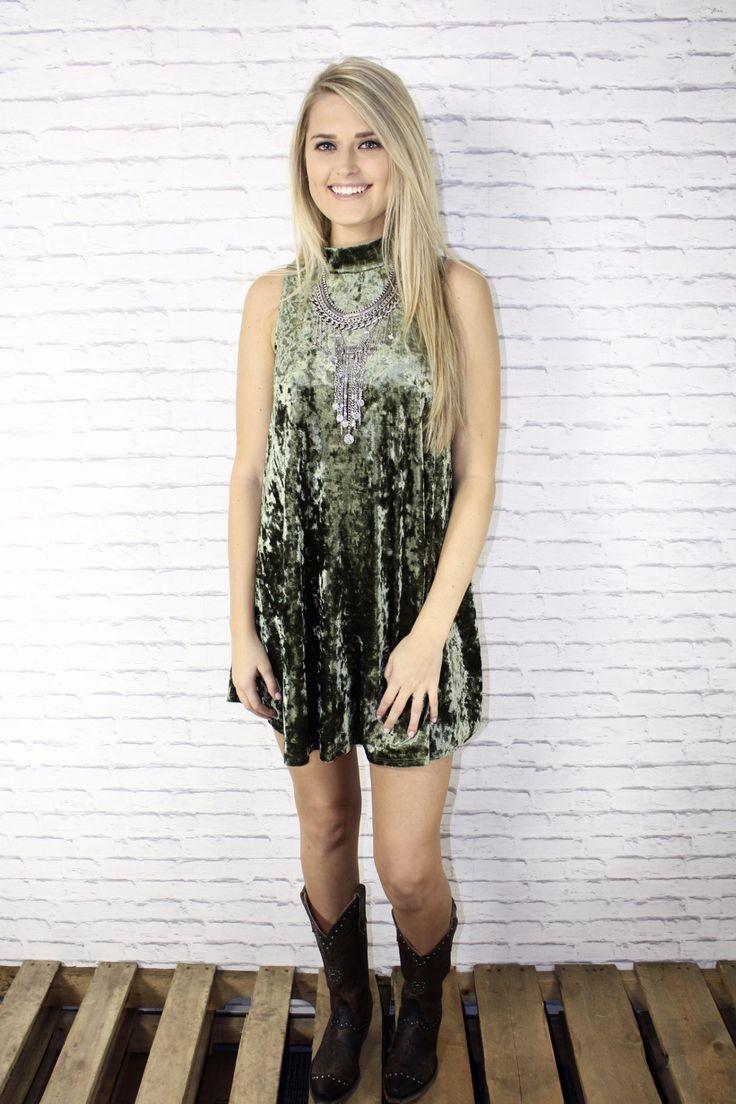 Velvet Teddy Tank Dress