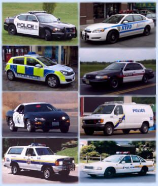 police car website