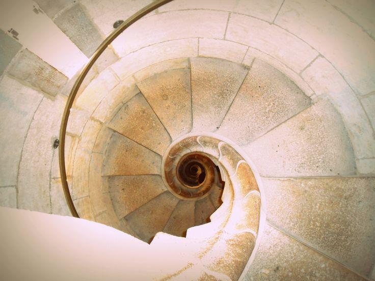 Winding staircase - Sagrada Familia - Barcelona