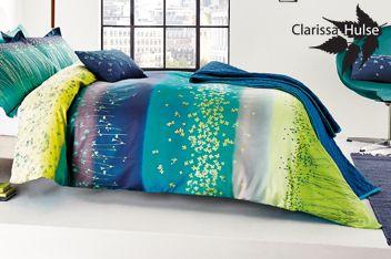 Clarissa Hulse Clover Stripe Duvet Cover