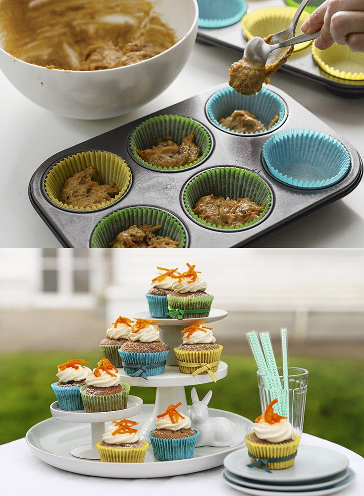 69 best easter baking waitrose images on pinterest home cute candied carrot and cream cheese cupcakes perfect for easter baking with children find negle