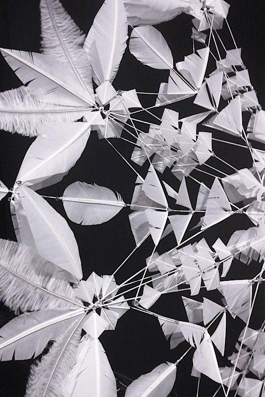 Janaïna Milheiro | Ailes de plumes<br> Défilé Victoria's Secret, 2015
