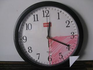"A few Tips for Teaching Elapsed Time - ""How do you teach the concept of time and elapsed time when you're not starting and stopping right on the hour? Like when your child starts homework at 6:15? Or when it's 4:45 and your child wants to know when it will be time for dinner? - 1) Simply buy a clock with a glass face and draw on it with a dry erase marker!"""
