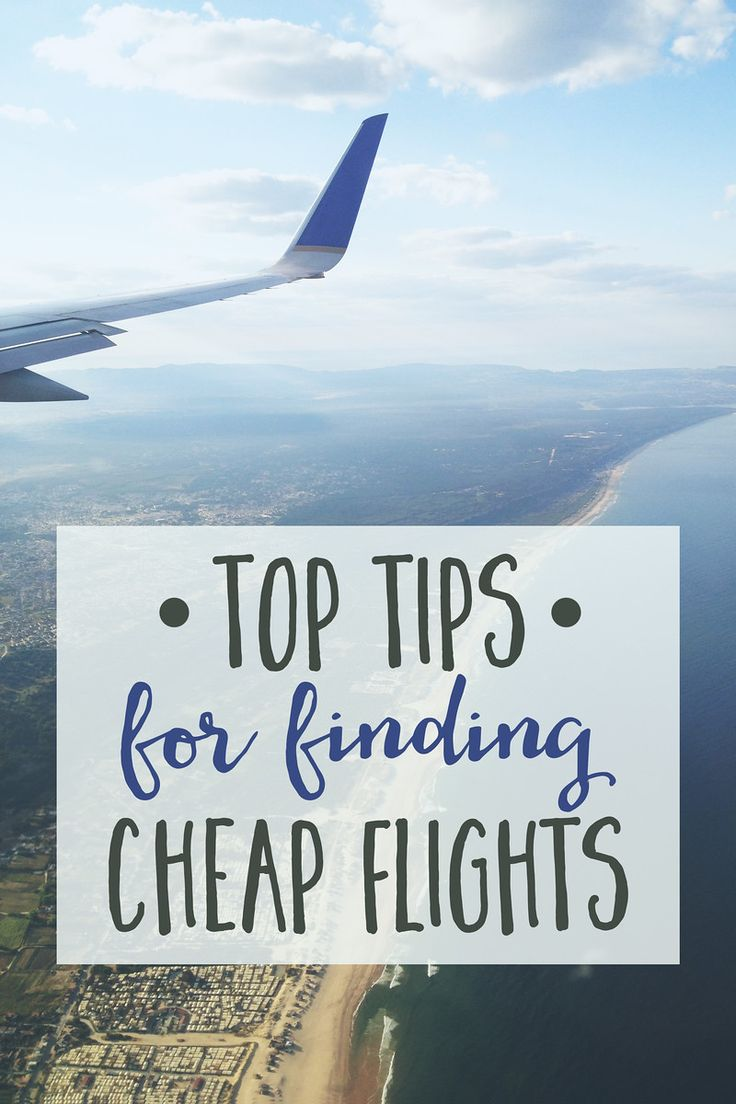 Tips for cheap travel and flights.