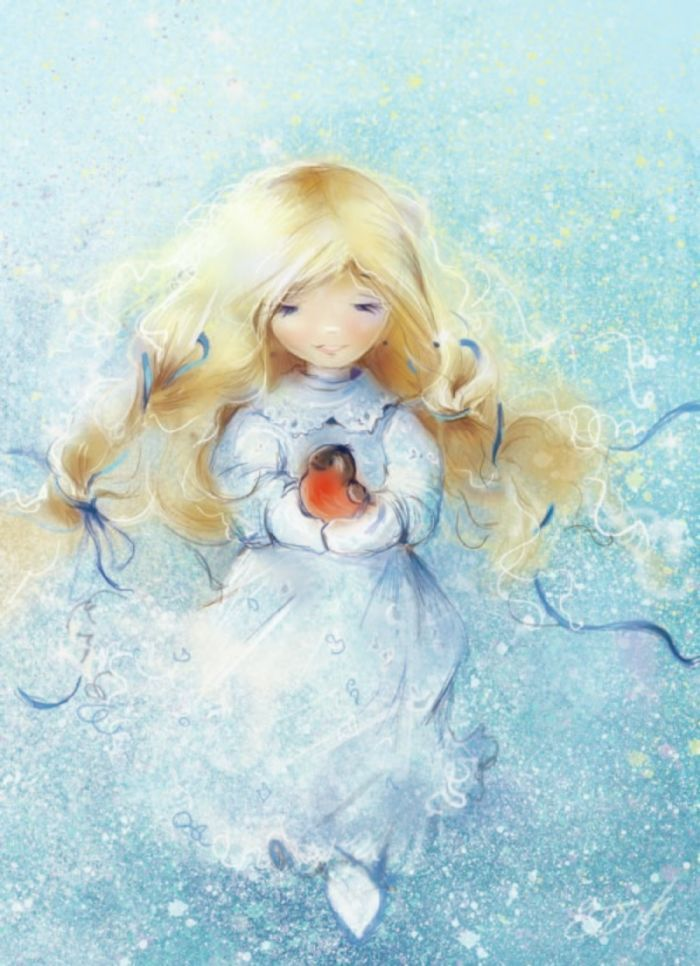 snow girl.jpg | Kate Babok | Representing leading artists who produce children's and decorative work to commission or license. | Advocate-Art