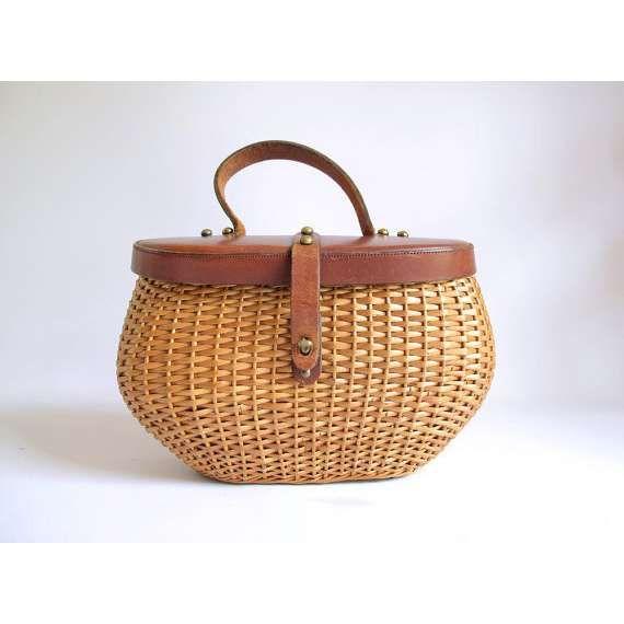 a4043cbca548 wicker hermes bag - Google Search | Bag It Up | Bags, Vintage bags, Wicker  purse