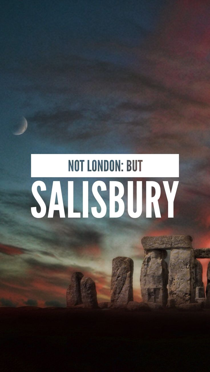 A lot of people think of the UK and head straight to London, which is really sad. We're a tiny island, but we're chock a block of culture and varied cities/towns. To kick off a little series about the places to be in the UK that aren't London, here's Salisbury. The typical English experience in a city!