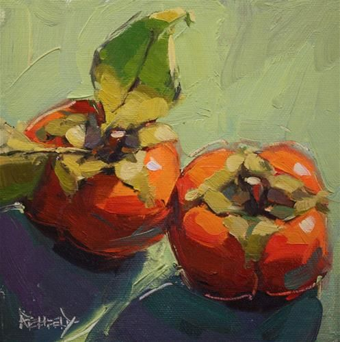 """Daily Paintworks - """"At It Again"""" - Original Fine Art for Sale - © Cathleen Rehfeld"""