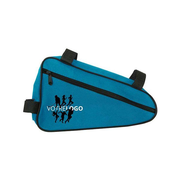 Sac cadre VTT personnalisable. Partir en vélo et se sentir léger c'est possible avec cette pochette !