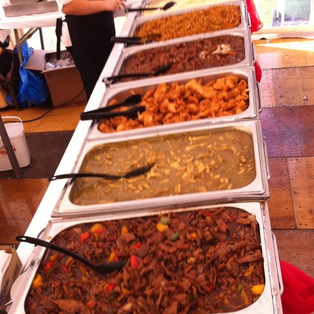Food By Borneo Bistro For Split Festival 2011 Sunderland Uk Food African Food Recipes