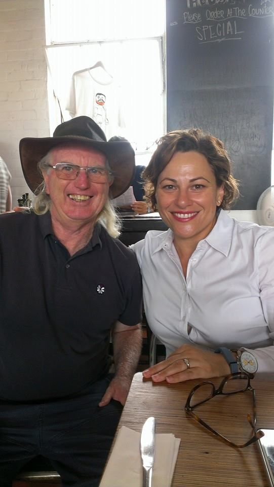 On the campaign trial for the 2015 state Elections in Queensland with Jackie Trad MP