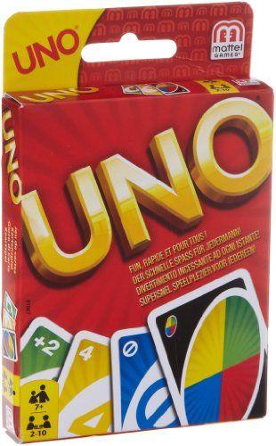 Mattel 51967-0 - UNO, Kartenspiel: Amazon.de: Spielzeug