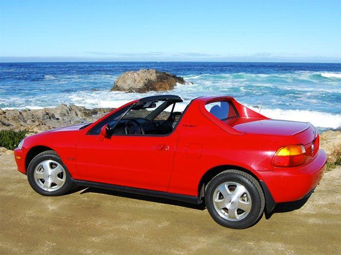 Honda Civic Del Sol, born in 1992, and discontinued in 1988!