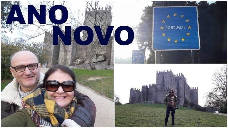 NOSSO ANO NOVO EM PORTUGAL / Paços de Ferreira e Guimaraes.
