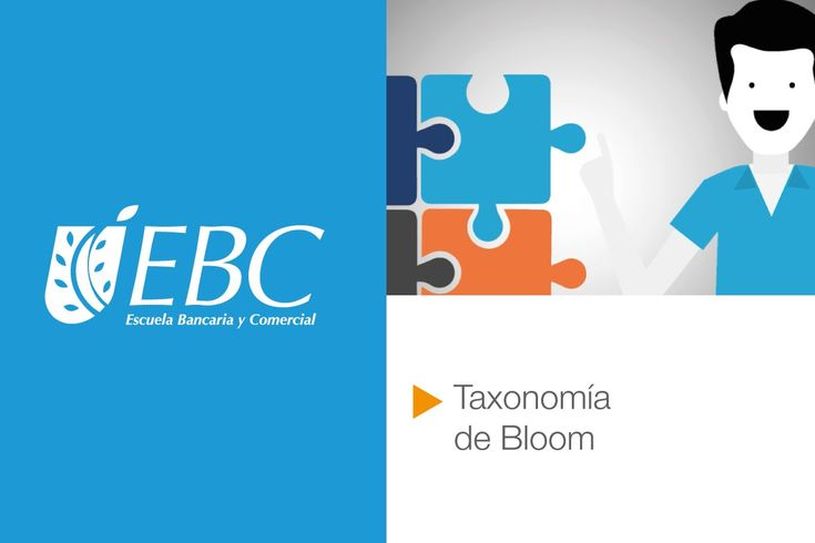 ¿Qué es la taxonomía de Bloom?