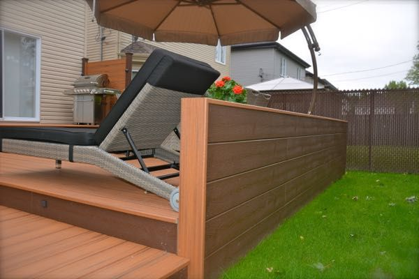 Veranda lumber composites decking best patio synthetic for Synthetic deck material