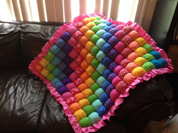 Hey, I found this really awesome Etsy listing at https://www.etsy.com/uk/listing/226418273/baby-bubble-quilt-rainbow-simple