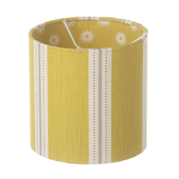 Stockholm Stripe Drum Lampshade 20 x 20cm lined with Pretty Maids