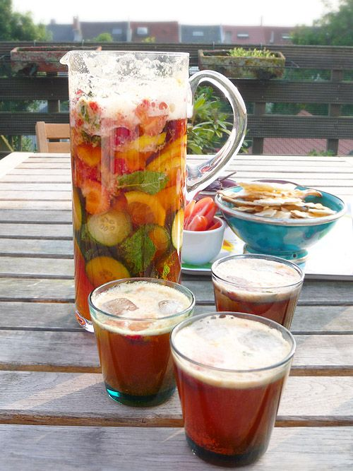 British Fave Cocktail recipe: Pimms and Lemonade...