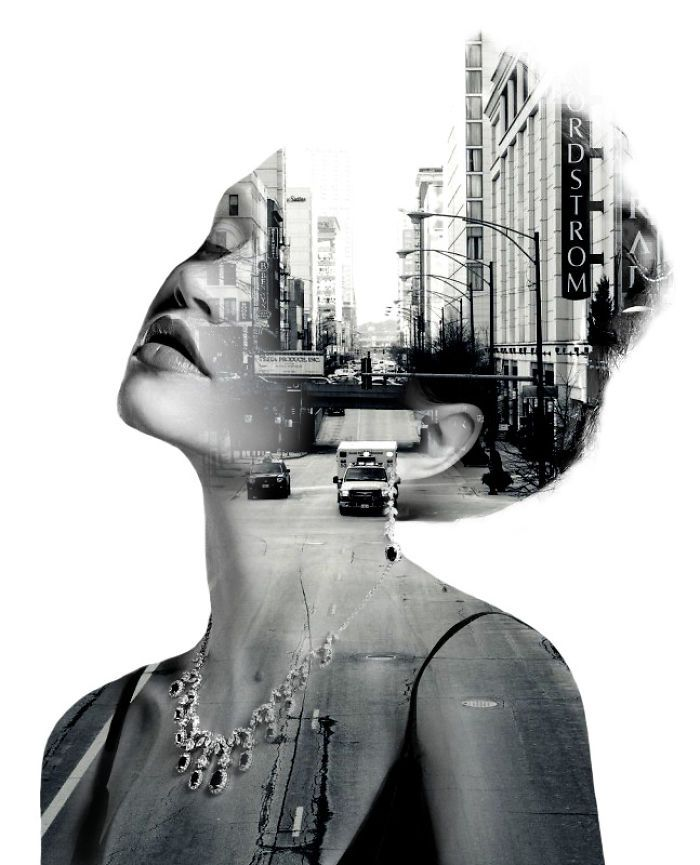 Stunning Double Exposure Portraits Where I Merge Two Worlds Into One - Outsourcing company in Hanoi Vietnam