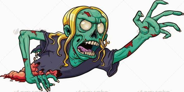 zombie dibujo animado - Buscar con Google