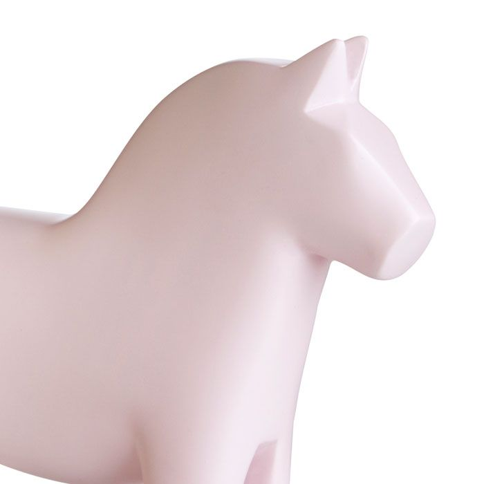 Our pink Swedish Dalahorse is perfect for a child's bedroom! Gifts, rugs and inspiration for bedrooms and home decoration from Skandihome.com