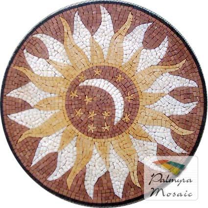 MD014 Marble Mosaic Medallion