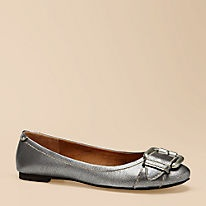 Silver flats...exactly what I have been looking for!