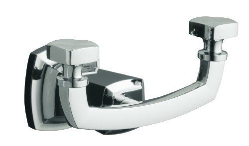 """KOHLER K-16256-CP Margaux Robe Hook, Polished Chrome by Kohler. Save 25 Off!. $66.45. """"Margaux accessories create an aura of classic elegance with a variety of finishes that reinforce a sleek, contemporary feel as well as the timelessness of traditional décor. """""""