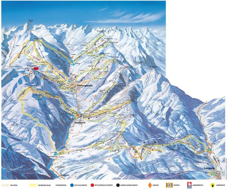 45 best Ski maps images on Pinterest Trail maps Ski resorts and Ski