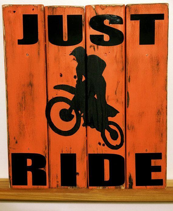 Dirt Bike Decor Motocross Wall Decor Sports by TamieMarieDesign
