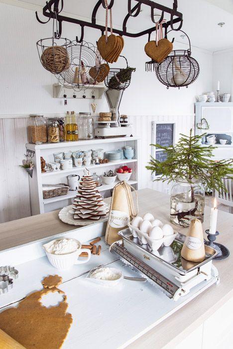 joulusisustus keittiö