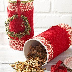 Savory Thyme Granola From Better Homes and Gardens, ideas and improvement projects for your home and garden plus recipes and entertaining ideas.