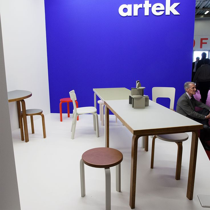 Artek classics in new finishes at the Milan Furniture Fair