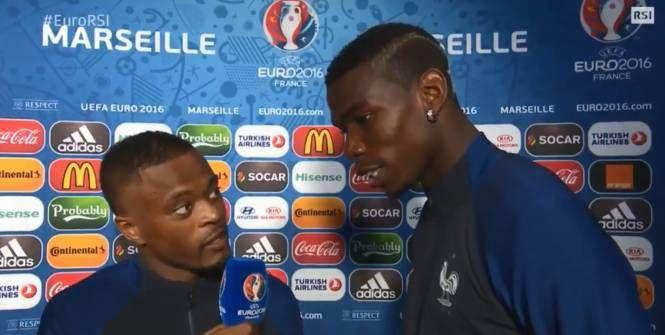 Patrice Evra et Paul Pogba se sont transformés en journaliste jeudi soir, le temps d'une interview.