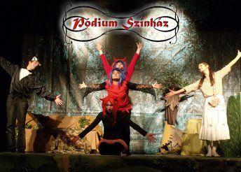 Macskakirály című mesemusical egy részben, magyar népmesei elemekkel a Pódium Színháztól